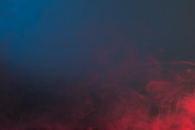 Colore fumo sullo sfondo