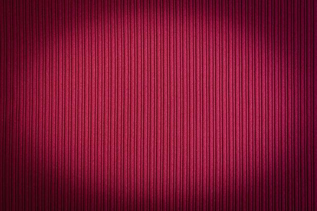 Colore rosso di sfondo, sfumatura di vignettatura.