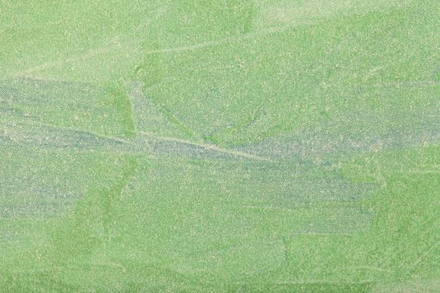 Colore verde del fondo di arte astratta.