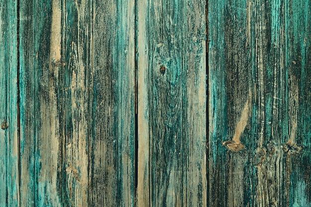 Colore verde della parete di fondo di legno