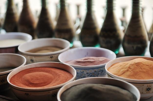 Colori arte in polvere