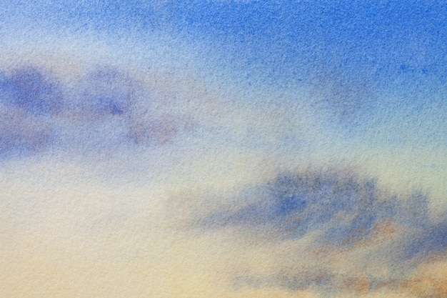 Colori blu chiaro e bianchi di arte astratta.