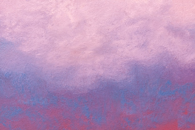 Colori blu-chiaro e porpora del fondo di astrattismo. pittura ad acquerello su tela con sfumatura rosa tenue.