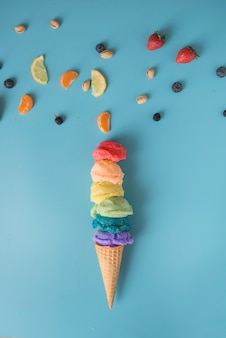 Colori del gelato