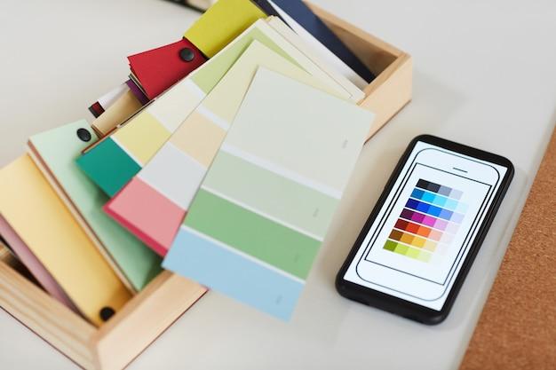 Colori e sfondo di design