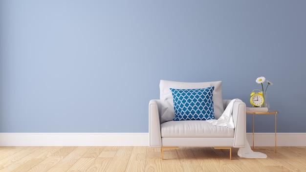 Colori pastello e interni moderni