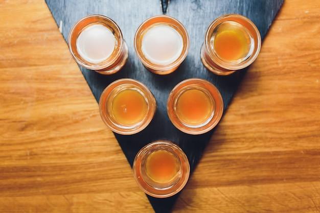 Colpi di alcool, vista dall'alto