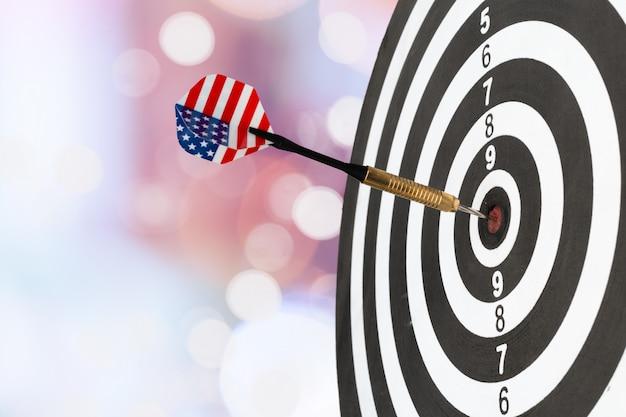Colpire il bersaglio con successo, mirare al raggiungimento dell'obiettivo