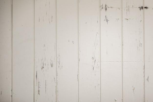 Colpo del primo piano di una superficie di legno bianca - grande o sfondo o un blog