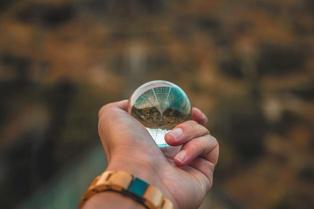 Colpo di sfera di cristallo