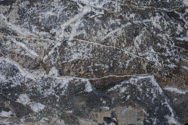 Colpo di telaio completo di roccia