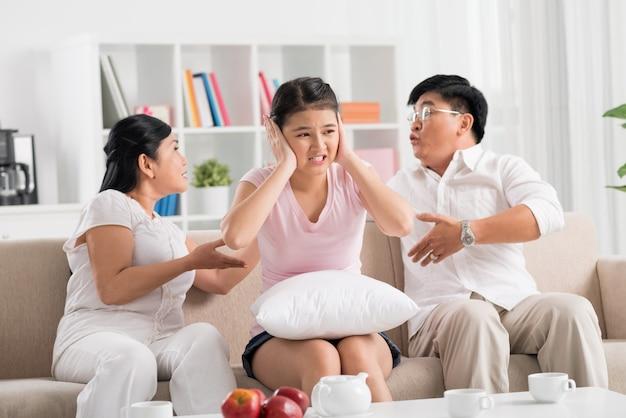 Combattimento in famiglia
