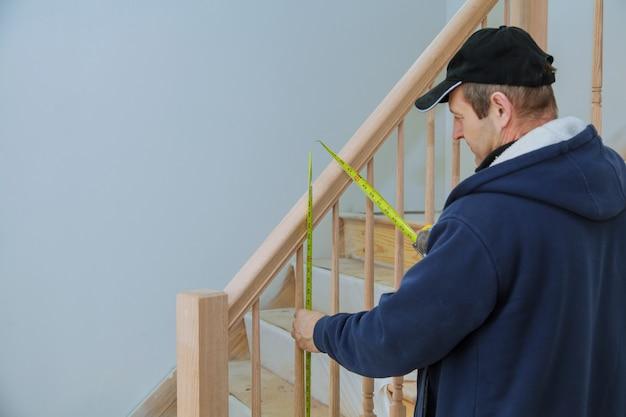Come installare un kit di ringhiere per scale installazione per ringhiere in legno per scale