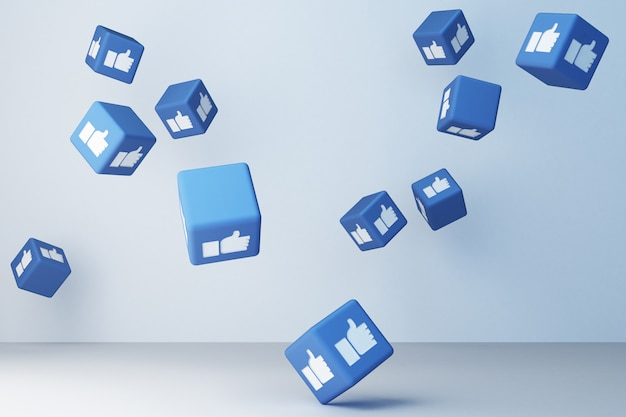 Come la rappresentazione dell'icona 3d della scatola 3d
