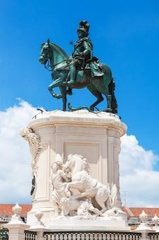Commerce square si trova nella città di lisbona, in portogallo