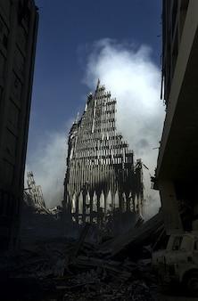Commercio attacco centro torri gemelle del terrorismo mondiale