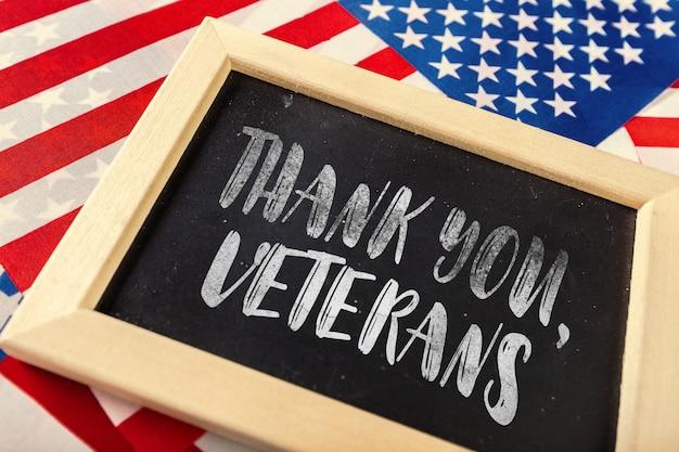 Composito di bandiera del giorno dei veterani