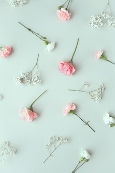 Composizione con bellissimi fiori