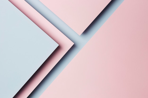 Composizione del fondo multicolore degli strati di carta