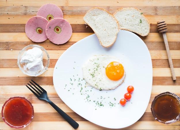 Composizione della colazione