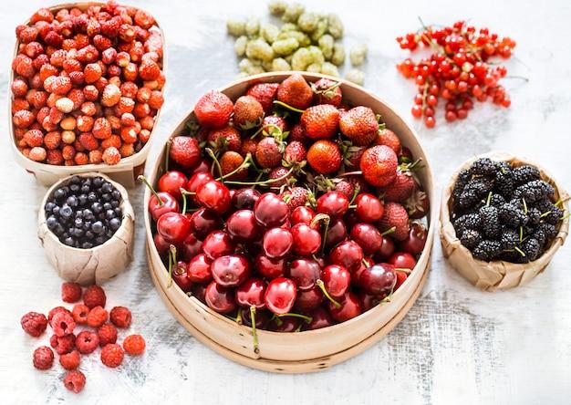 Composizione di frutti diversi