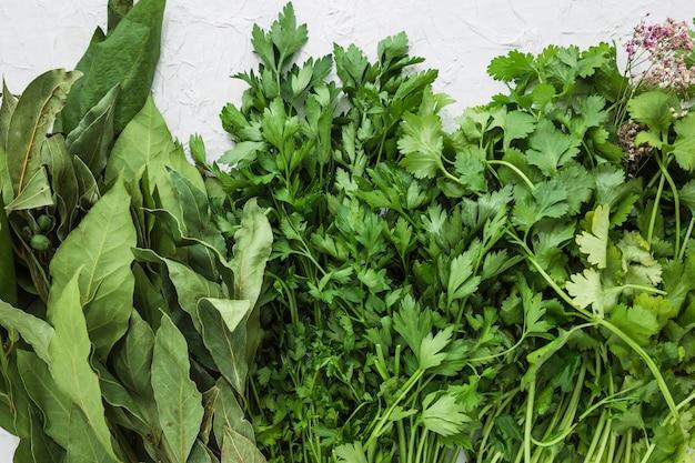 Composizione di ingredienti moderni helathy