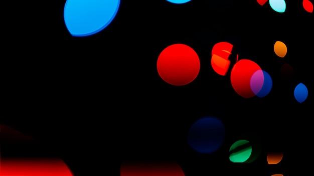 Composizione di luci bstract