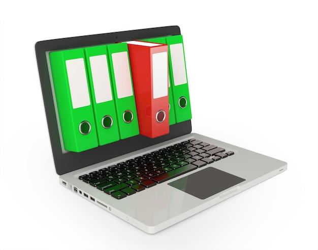 Computer con cartelle