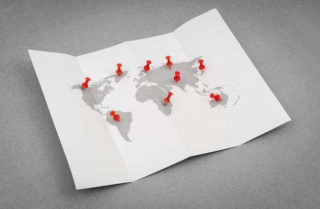 Comunicazione geografia di viaggio semplice africa