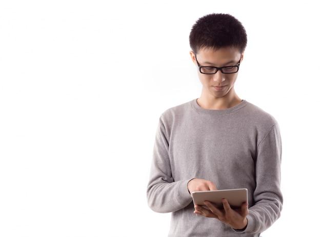 Comunicazione wireless denaro moda maschile