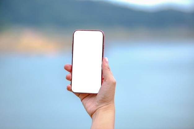 Con le donne in possesso di smartphone