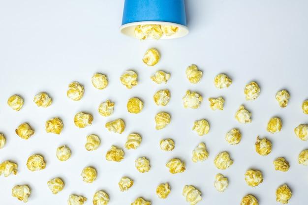 Concep di sversamenti di popcorn