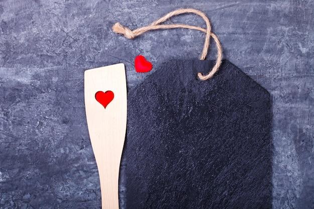 Concept holiday valentine day. biglietto d'auguri, regalo.