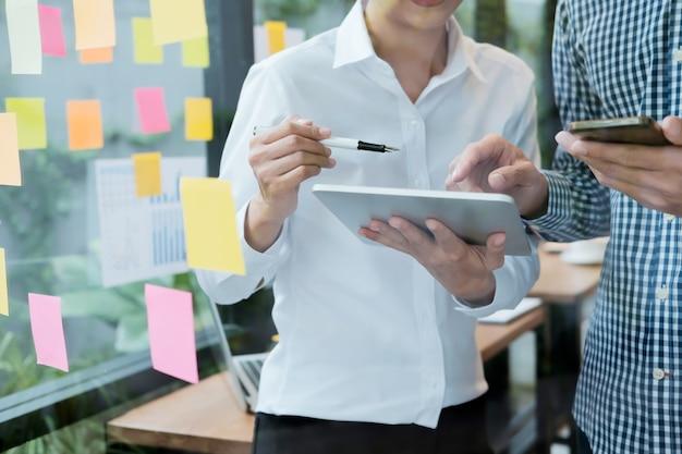 Concetti di idee di idee di progettazione. pianificazione aziendale