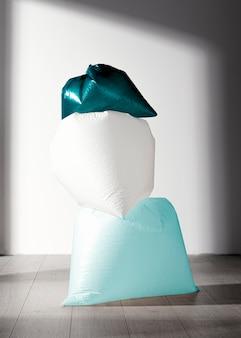 Concetto astratto del sacchetto di plastica