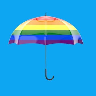 Concetto dell'ombrello - illustrazione 3d