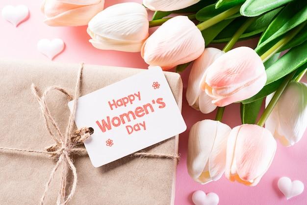 Concetto della giornata internazionale della donna