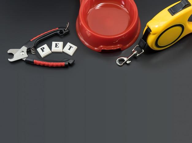 Concetto di accessori per animali domestici