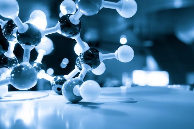 Concetto di affari di molecola dna modello struttura aziendale