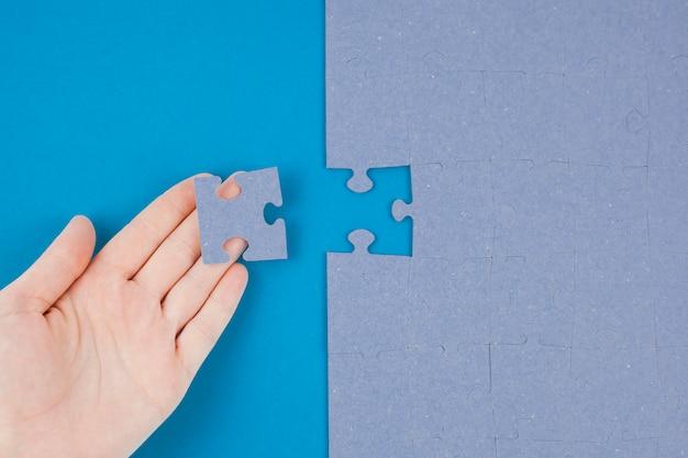Concetto di business con jigsaw puzzle