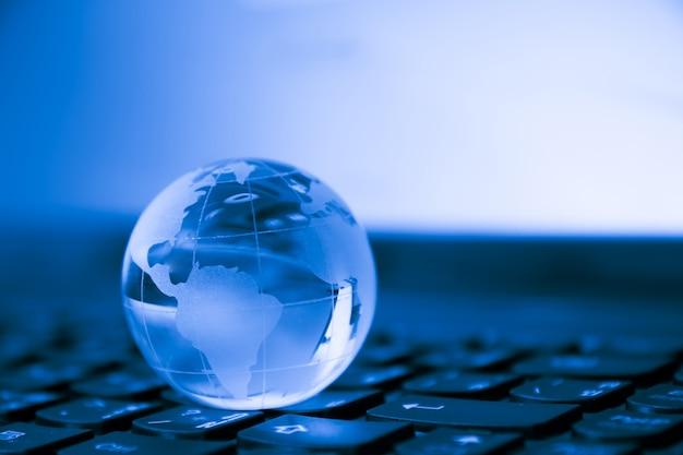 Concetto di business globale e internazionale