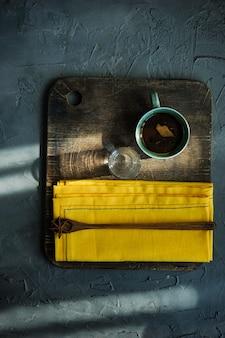 Concetto di caffè del mattino