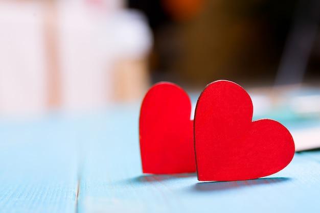 Concetto di carta regalo di san valentino