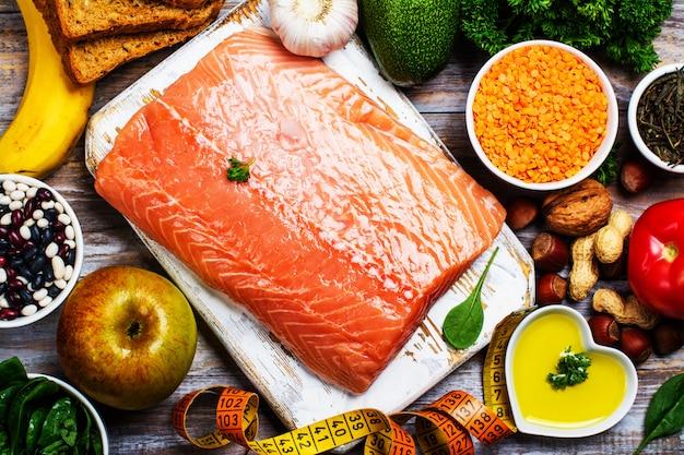 Concetto di cibo sano