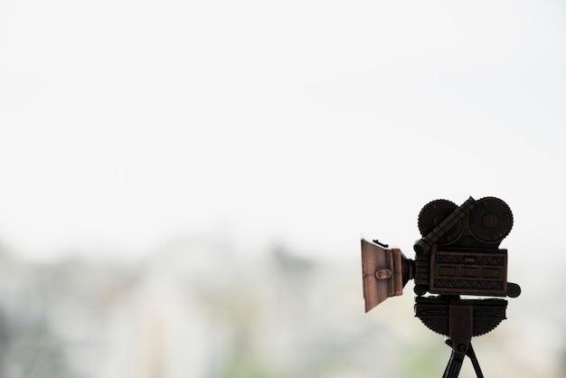 Concetto di cinema con fotocamera