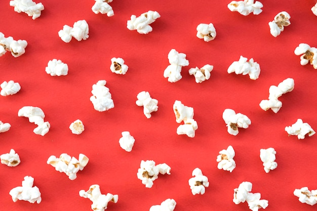 Concetto di cinema con popcorn