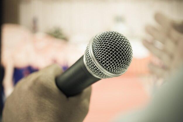 Concetto di conferenza di seminario