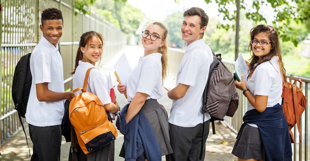 Concetto di conoscenza della gente degli studenti di istruzione