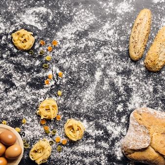 Concetto di cucina italiana creativa