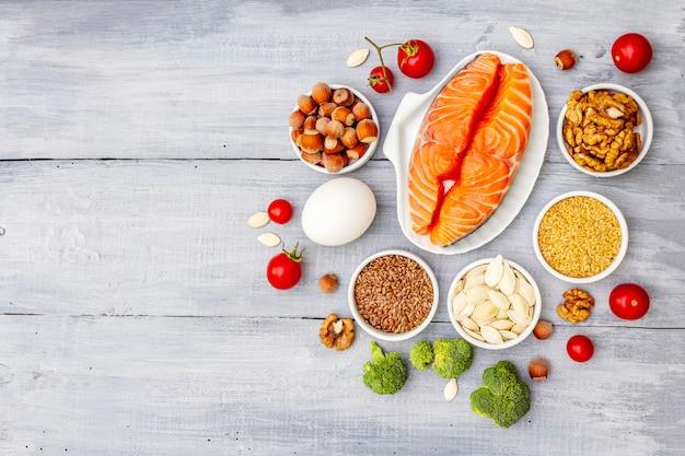 Concetto di dieta chetogenica